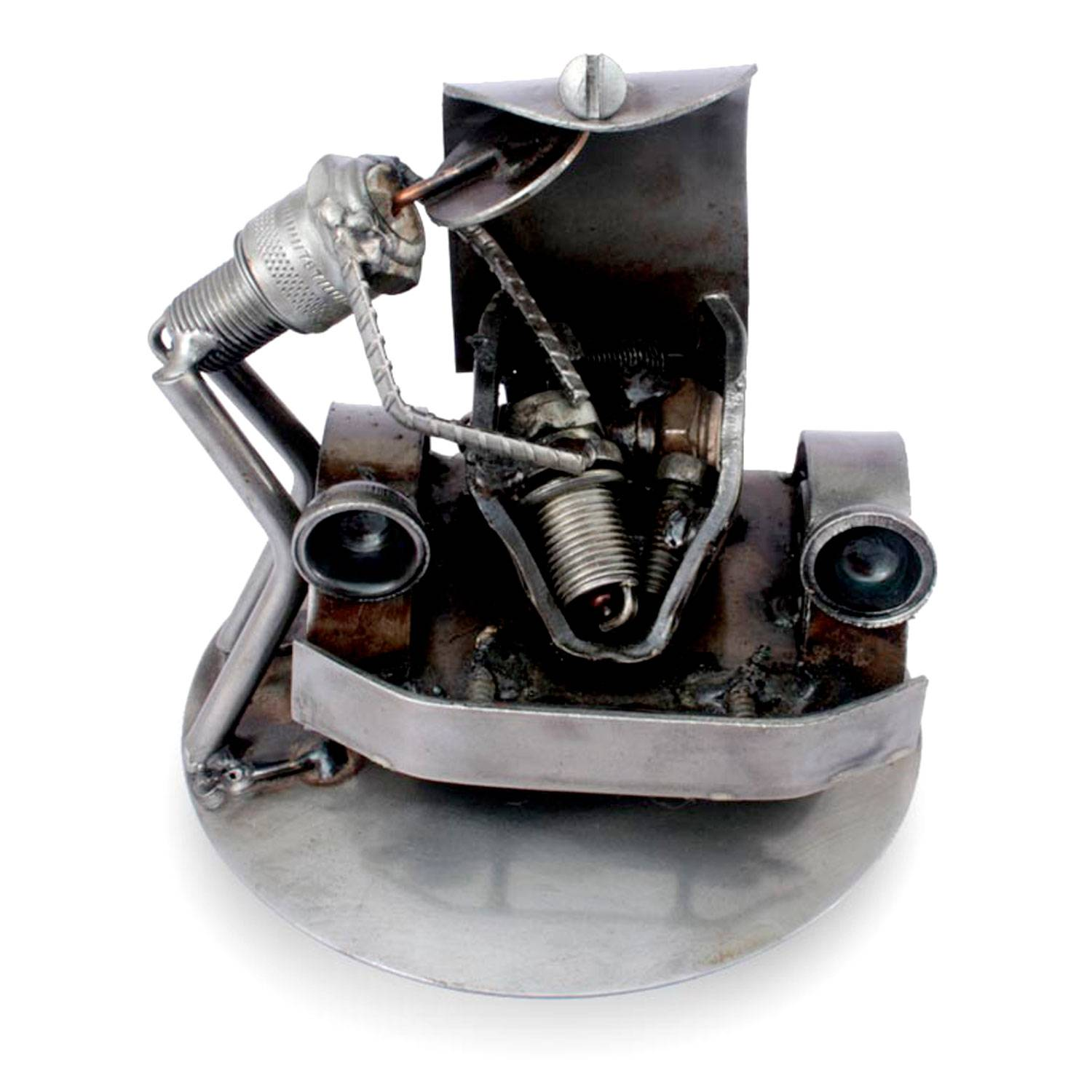 Unicef Uk Market Recycled Auto Parts Sculpture Metal Art