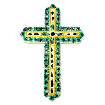 Hand Made Religious Ceramic Cross
