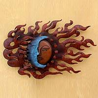 Iron wall adornment, 'High Wind Eclipse'