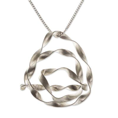 Fair Trade Sterling Silver Pendant Necklace