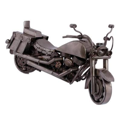 Hand Made Rustic Auto Parts Sculpture Recycled Mexico