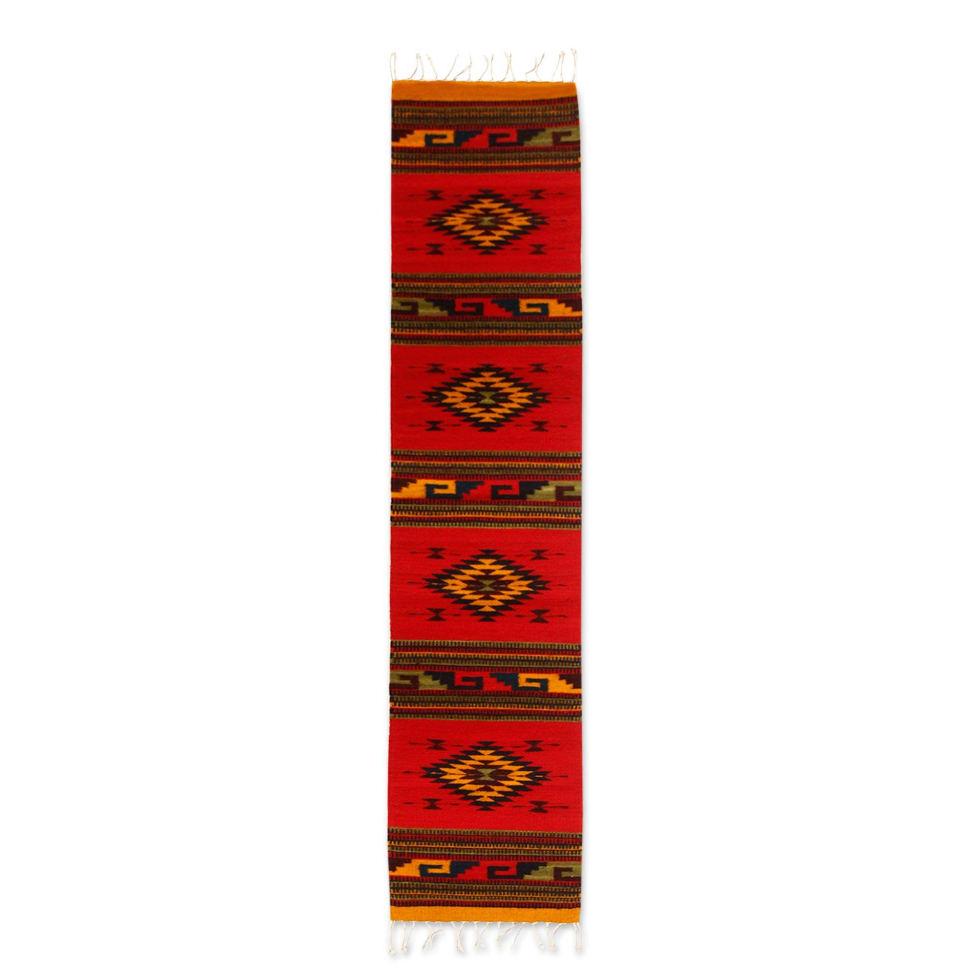 Unicef Market Wool Rug From Zapotec 1 5x6 5 Dancing