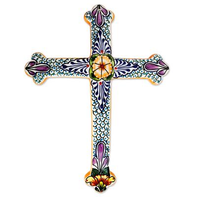 Collectible Talavera Ceramic Cross