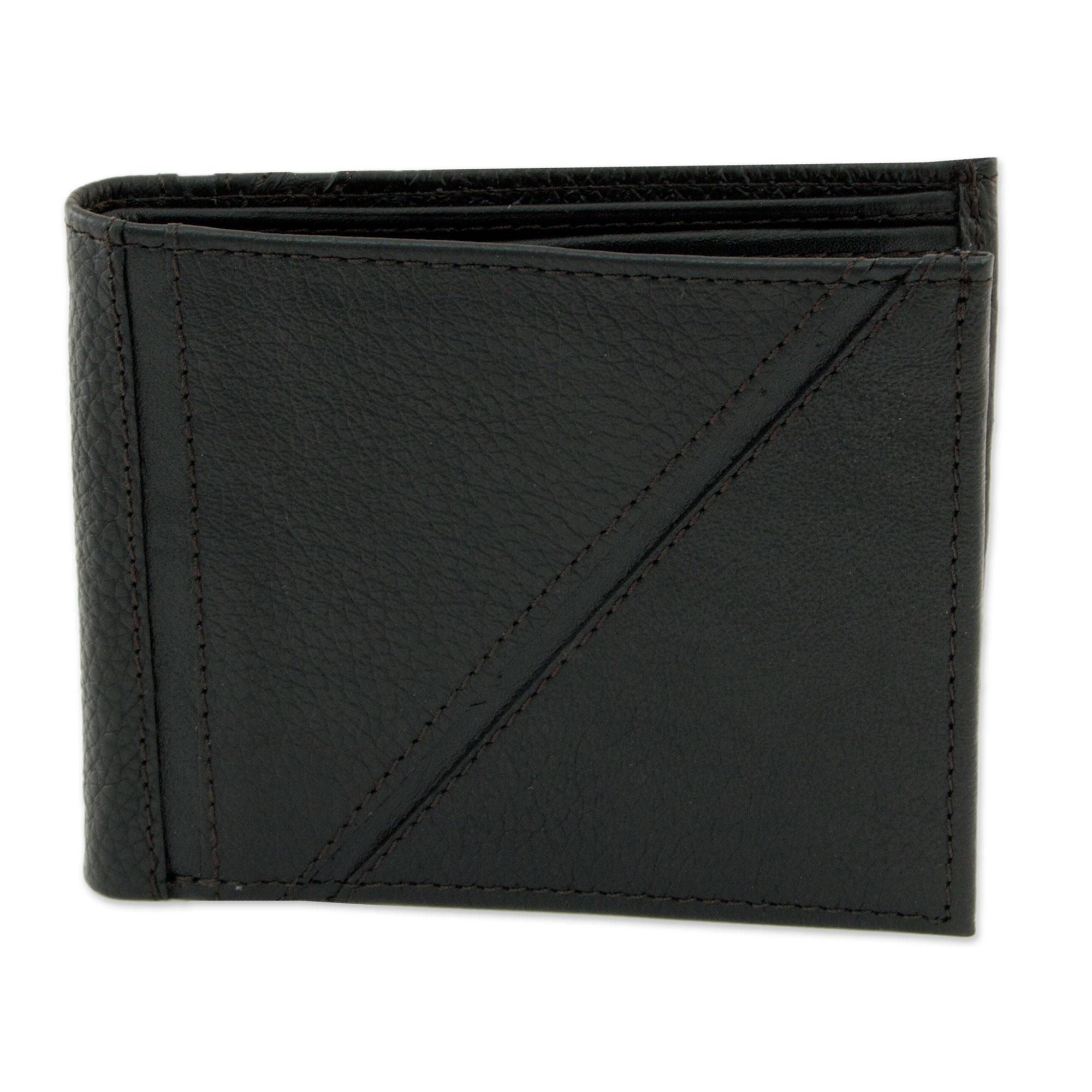 Novica Leather iPad case, Glorious Ebony