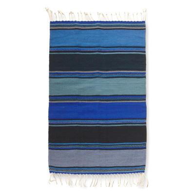 Zapotec wool rug, 'Zapotec Sky' (2x3) - Zapotec wool rug (2x3)