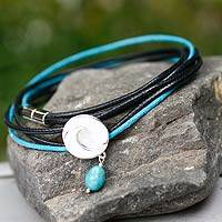 Featured review for Turquoise wrap bracelet, Integration