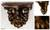 Parota wood wall shelf, 'Colonial Grace' (medium) - Mexican Hardwood Colonial Wall Shelf (Medium) (image 2) thumbail