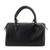 Leather baguette handbag, 'Guadalajara' - Mexican Black Leather Baguette Handbag (image 2c) thumbail