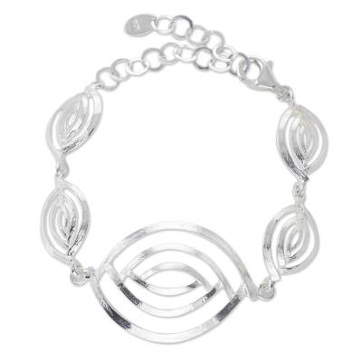 Handcrafted Bracelet from Taxco Silver Jewelry