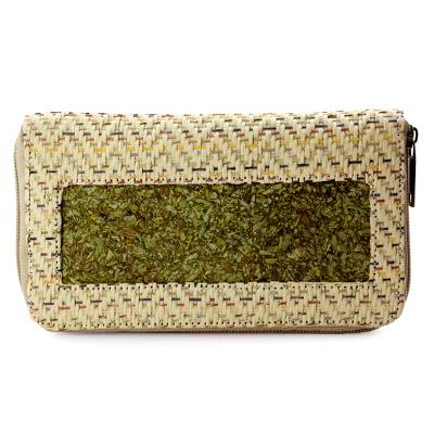 Hand Crafted Natural Fibers Wallet