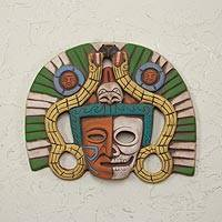 Ceramic mask, 'Teotihuacan Funeral' - Funeral Mask from Teotihuacan