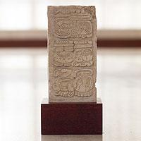 Sculpture, 'Palenque Stela'