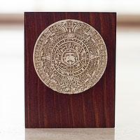 Sculpture, 'Mexica Sun Stone' - Aztec Calendar