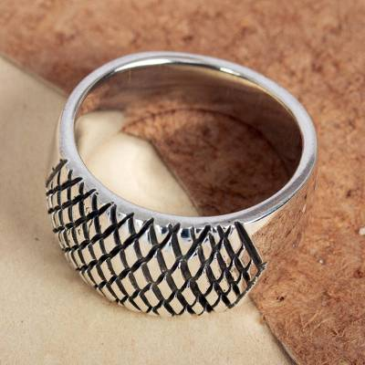 Artisan Crafted Taxco Sterling Ring