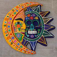 Ceramic eclipse, 'Day of the Dead'