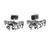 Sterling silver cufflinks, 'Equine' - Men's Jewelry Sterling Silver Cufflinks Two-in-One Horses (image 2b) thumbail