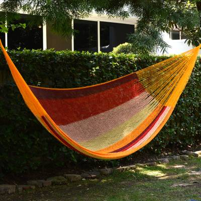 Cotton hammock, Tropical Paradise (double)