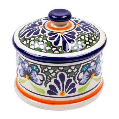Authentic Mexican Talavera Style Ceramic Box