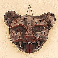 Ceramic mask, 'Jaguar Head'