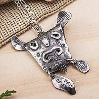 Soapstone pendant necklace,