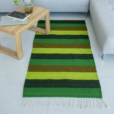 Woven Authentic Wool Zapotec Area Rug