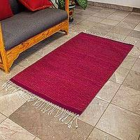Zapotec wool rug, 'Oaxaca Guelaguetza' (2.5x5)