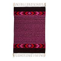 Zapotec wool rug, 'Cuilapan Colors' (4x6.5)