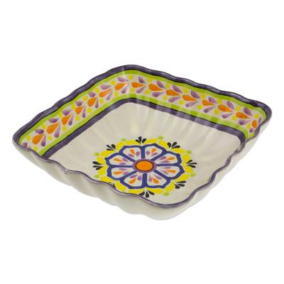 majolica bowl