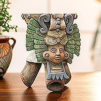 Ceramic incense holder, 'Owl Omen'