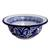 Talavera ceramic bowls, 'Cholula Blossoms' (pair) - Authentic Mexican Talavera 6 oz Ceramic Bowls (Pair) (image 2c) thumbail
