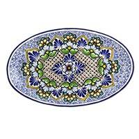 Featured review for Ceramic platter, Floral Cosmos