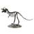 Recycled metal statuette, 'Tyrannosaurus' - Artisan Crafted Upcycled Metal Statuette of T-Rex (image 2b) thumbail
