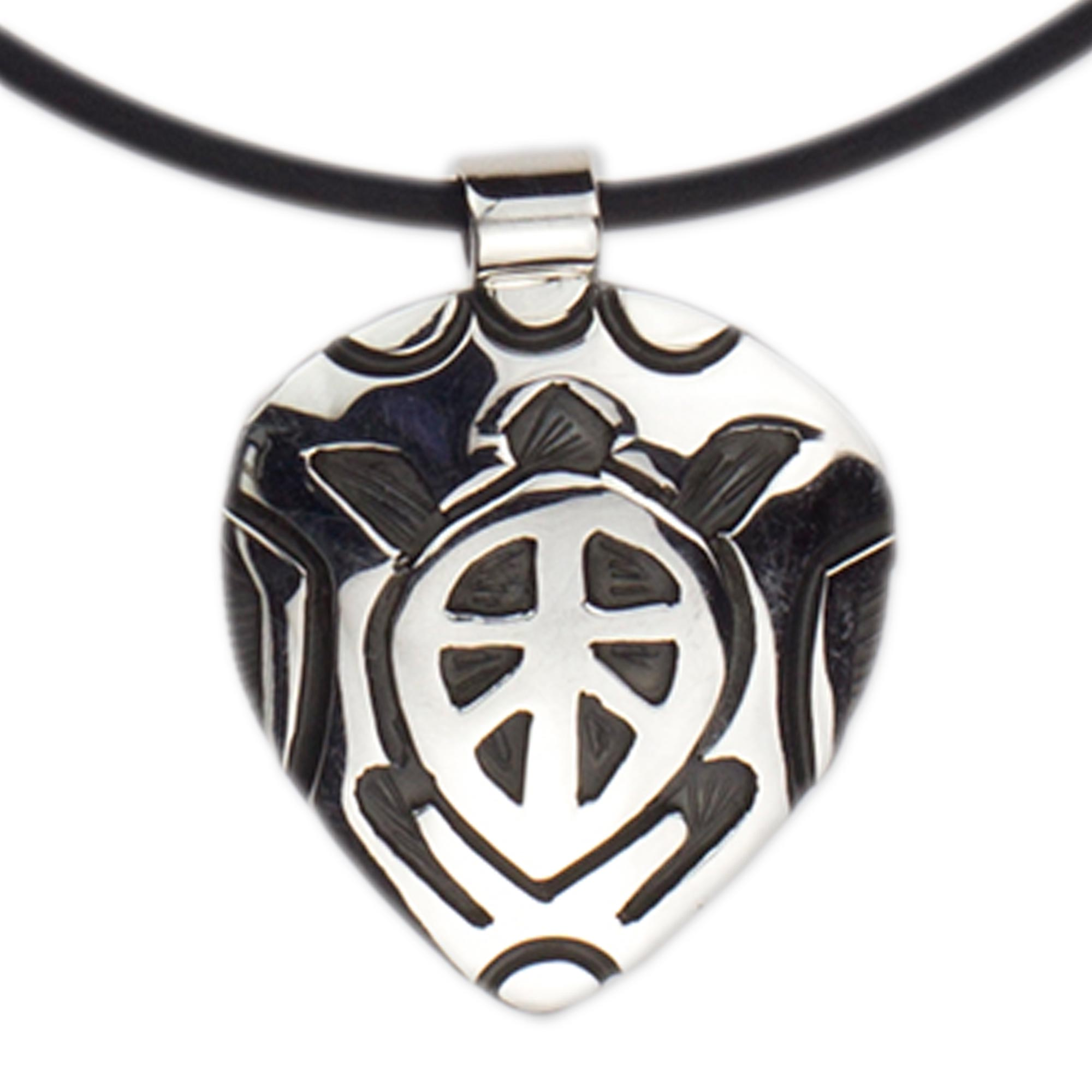 pendant naked turtle img shop geometry necklace
