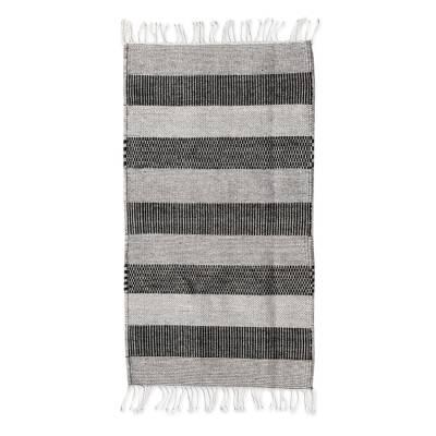 Handwoven Authentic Zapotec Accent Rug in Browns (2 x 3)