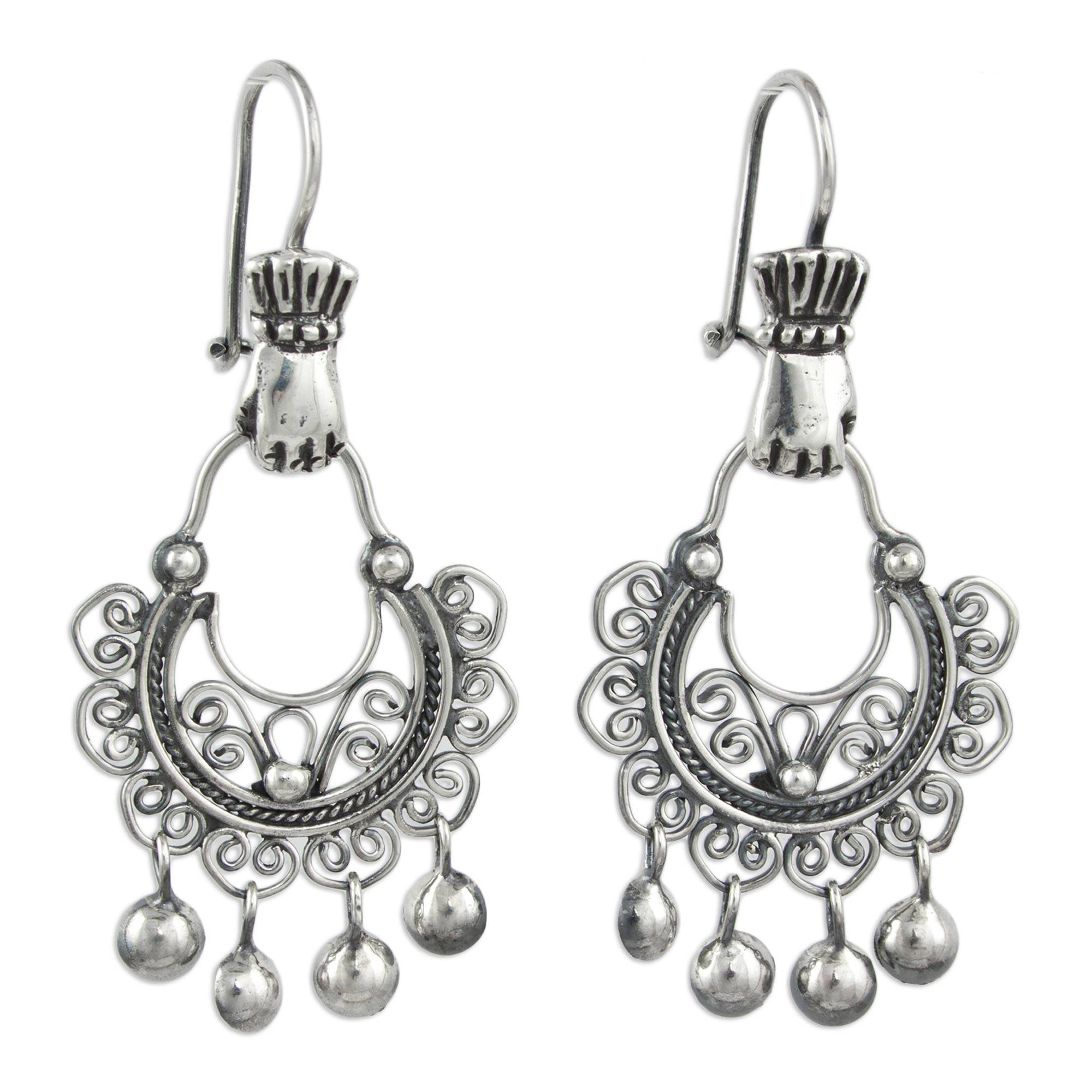 be74853a2 UNICEF Market | Artisan Crafted Sterling Silver Dangle Earrings from ...