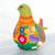 Ceramic sculpture, 'Splendid Dove' - Hand Crafted Ceramic Dove Sculpture from Mexico (image 2d) thumbail
