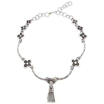 Catrina Silver Choker Day of the Dead Jewelry Collection