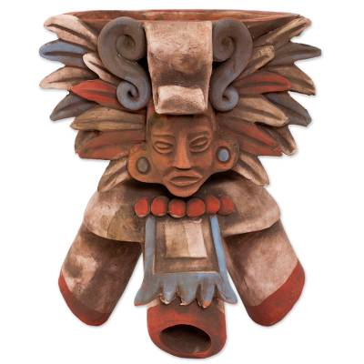 Handcrafted Ceramic Incense Holder from Mexico