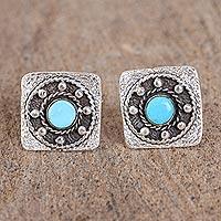 Turquoise cufflinks,
