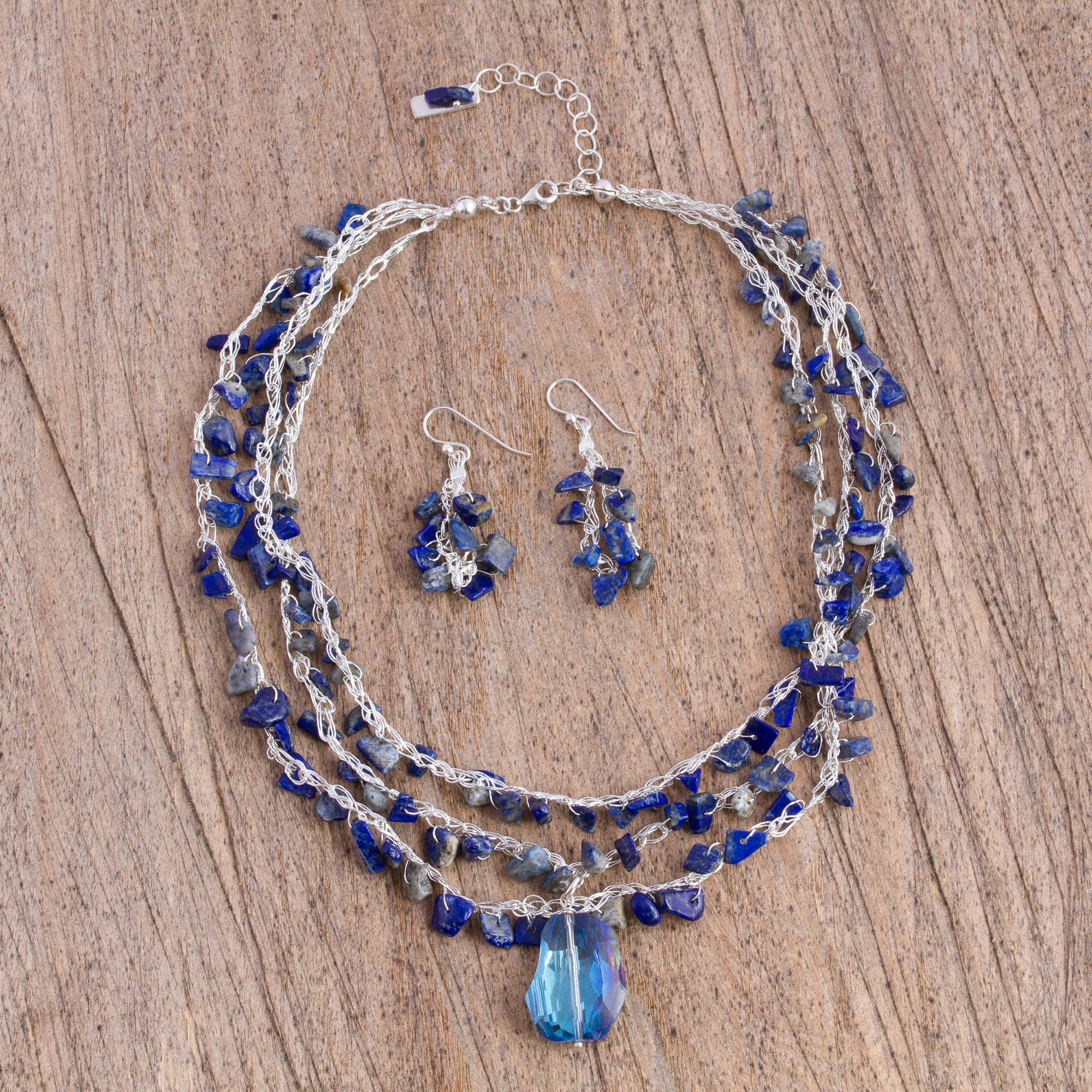 matte eye silver yoga pic beaded products of handmade bracelet copy necklace gemstone sodalite tiger buddha