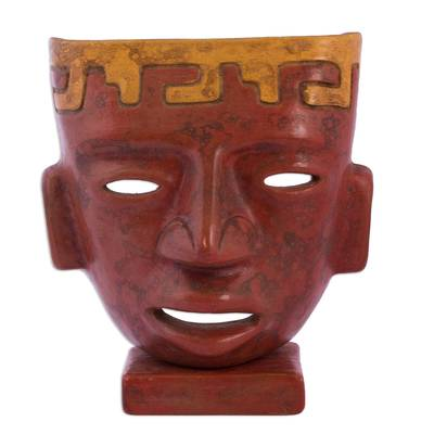 Ceramic mask, 'Teotihuacan' - Pre-Hispanic Ceramic Mask from Mexico