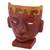Ceramic mask, 'Teotihuacan' - Pre-Hispanic Ceramic Mask from Mexico (image 2b) thumbail