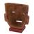 Ceramic mask, 'Teotihuacan' - Pre-Hispanic Ceramic Mask from Mexico (image 2c) thumbail