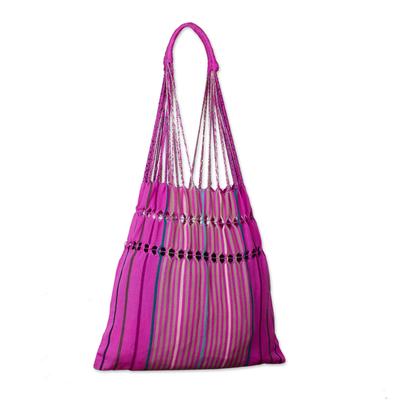 Novica Handbag, Pink Purse