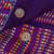 Cotton sling, 'Twilight in Oaxaca' - Mexican Backstrap Loom Woven 100% Cotton Purple Sling Bag (image 2d) thumbail