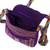 Cotton sling, 'Twilight in Oaxaca' - Mexican Backstrap Loom Woven 100% Cotton Purple Sling Bag (image 2e) thumbail