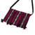 Cotton sling, 'Oaxacan Canvas in Black' - 100% Cotton Bohemian Style Striped Sling Bag from Mexico (image 2c) thumbail