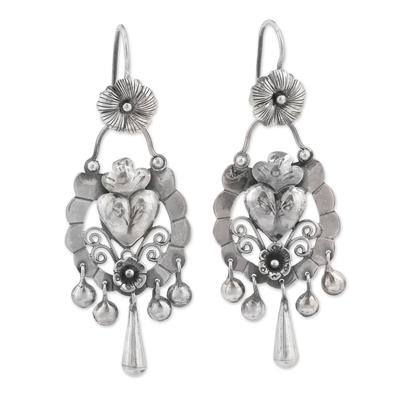 Mexican inspired earringsflores earrings