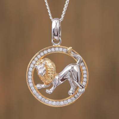 Novica Sterling silver pendant necklace, Equine Grace