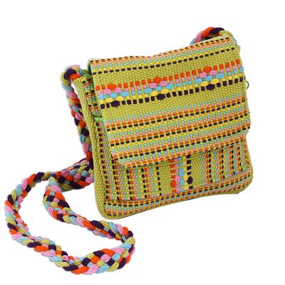 Novica Cotton sling, Colorful Valleys